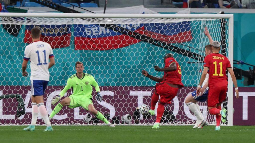 รัสเซีย พบ เบลเยี่ยม ฟุตบอลยูโร 2020